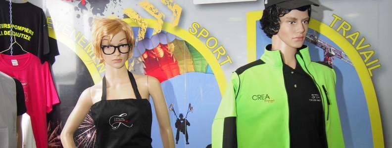 Textile personnalisé - CREA-FILPro