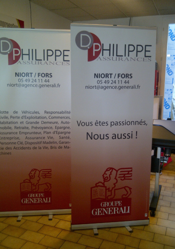 DISLPAY – Roll-up, banner… Plusieurs formats disponibles