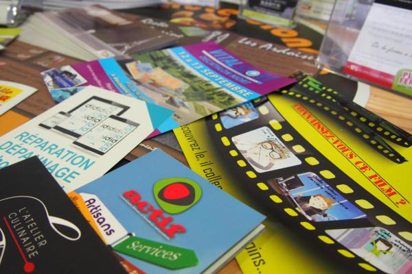 Affiche, Flyer, Dépliant, Brochure, Menu, Set de table